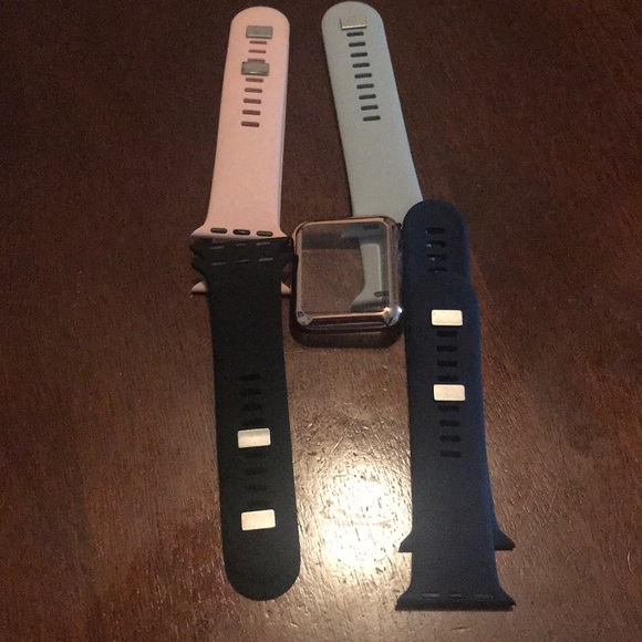 Exclusive Accessories Apple Watch Bands From Best Buy 38m Size Poshmark